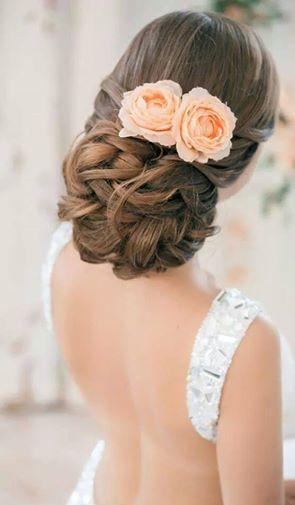 peinados para ceremonias